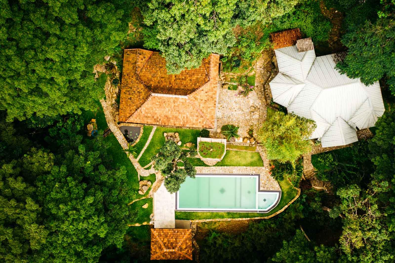 Sri Lanka Hotel Drohne